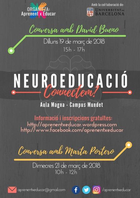 Cartell Neuroeducació